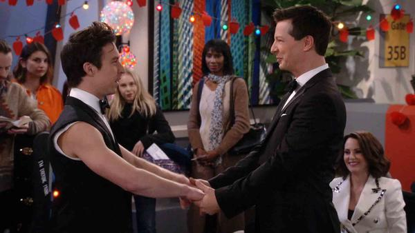 Will and Grace wedding