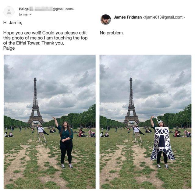 Фотошоп-мастер, который слишком буквально выполняет просьбы клиентов (15 фото)