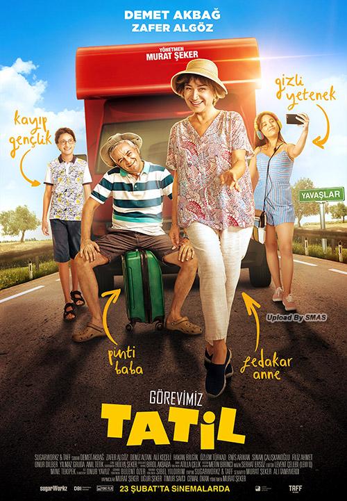 Görevimiz Tatil | 2018 | Yerli Film | NF | WEB-DL | XviD | Sansürsüz | m720p - m1080p | WEB-DL | Tek Link