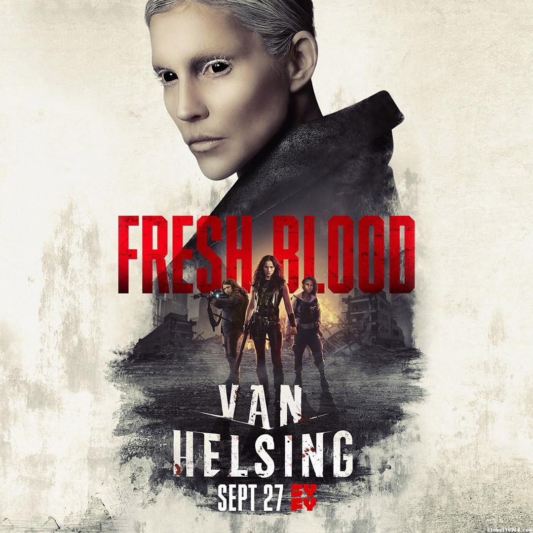 范海辛 Van Helsing 第4季 官方海报及官方预告
