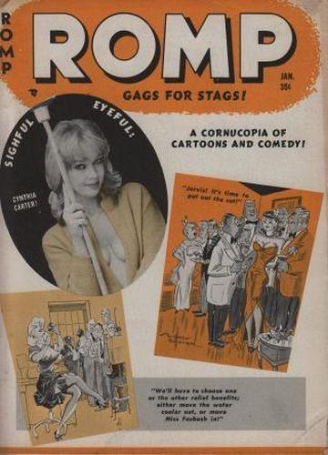 Cover: Romp January 35 1962