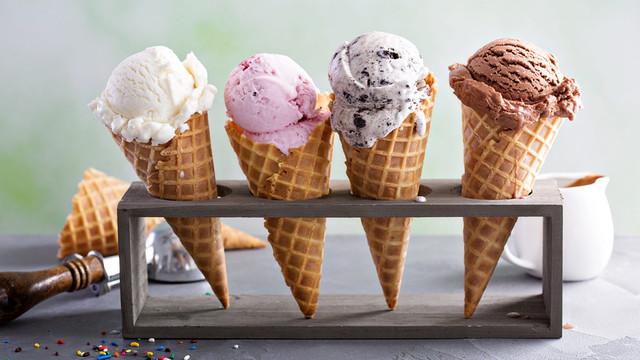 мороженое в рожке разные виды и вкусы