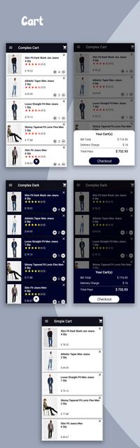 Material Design - Flutter Ui Kit Android - 16