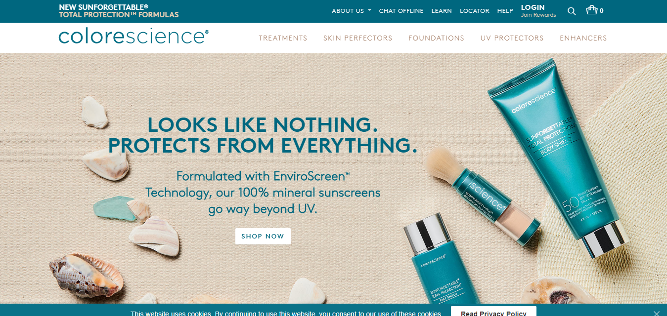 The Colorescience travel product recommended by Sanem Ahearn on Pretty Progressive.