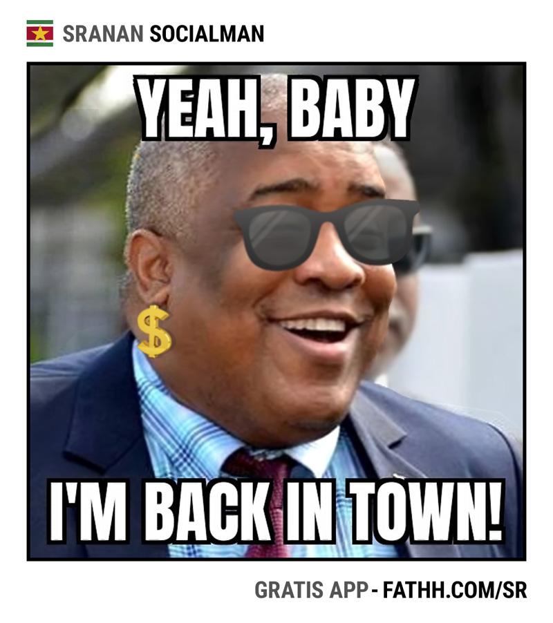Sranan Socialman : Back in Town