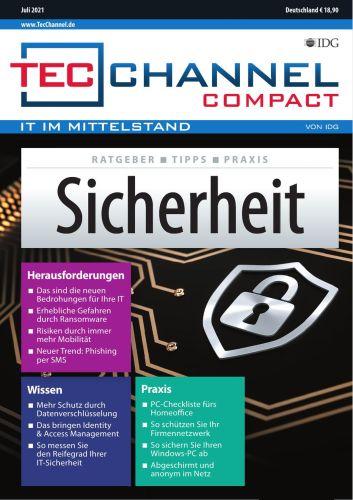 Cover: Tecchannel Compact Magazin No 07 Juli 2021