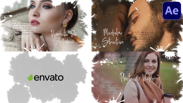Videohive - Ink Slideshow   After Effects - 32607974
