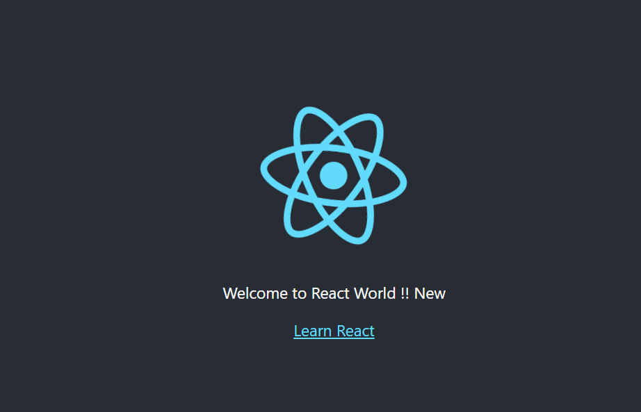 react-first-screen-with-change