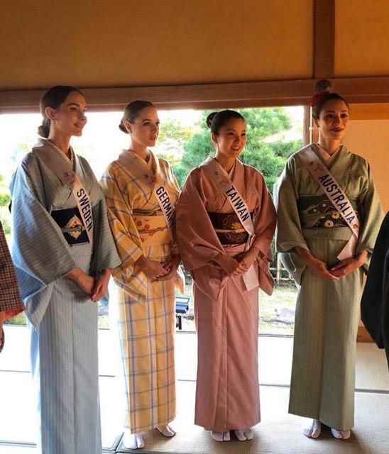 candidatas a miss international 2019 usando tradicional traje tipico japones. 75402181-745610525957435-4434031735679746048-n