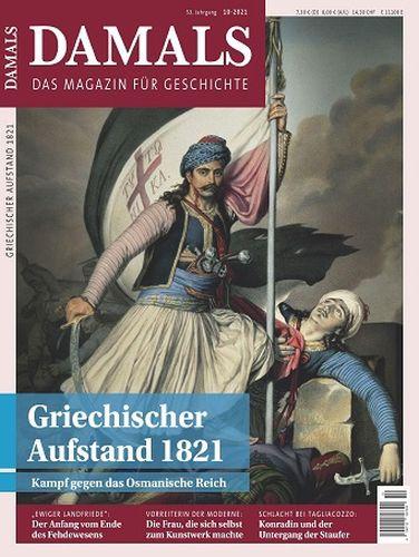 Cover: Damals Das Magazin für Geschichte No 10 Oktober 2021
