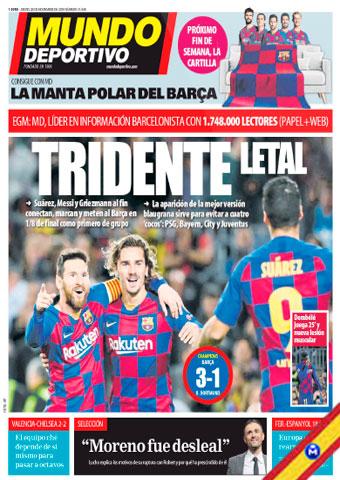 Mundo Deportivo 28 Noviembre 2019 [Español] [Up-4Ever] Mundo-Deportivo-28-Noviembre-2019