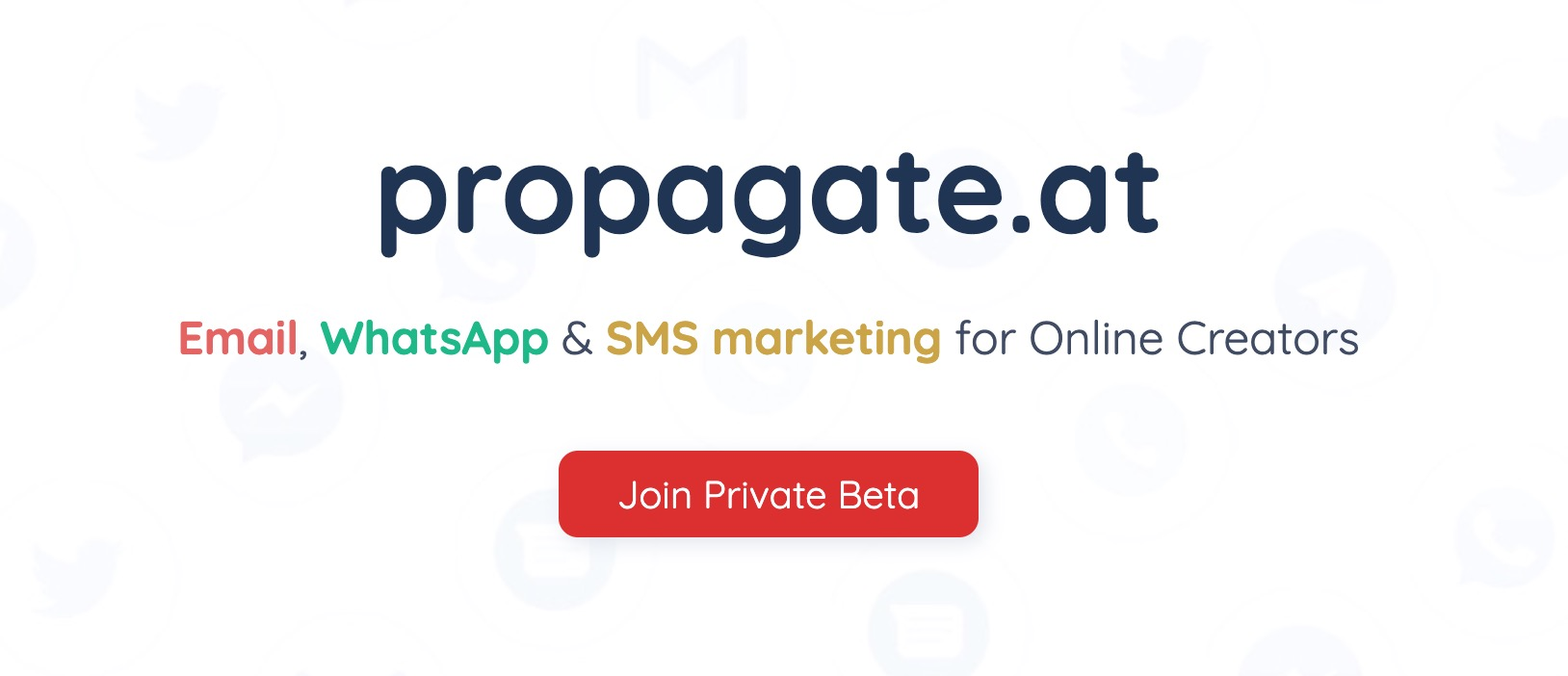 PropagateAt Home Page