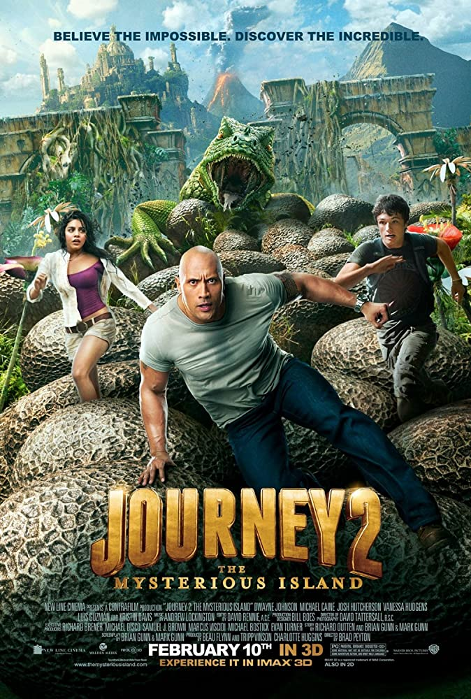 Journey 2 The Mysterious Island (2012) Hindi Dubbed Movie HDRip 720p AAC