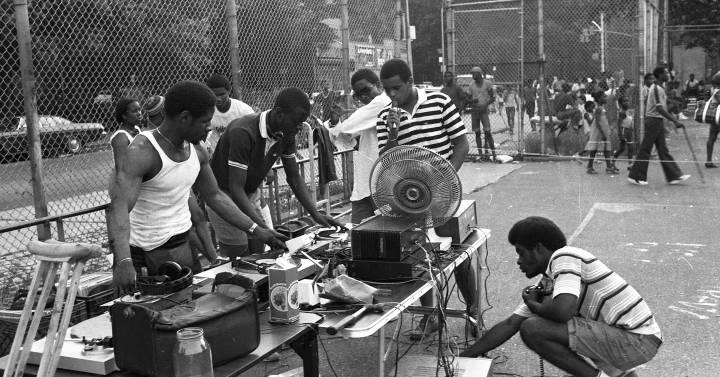 hip hop, origenes