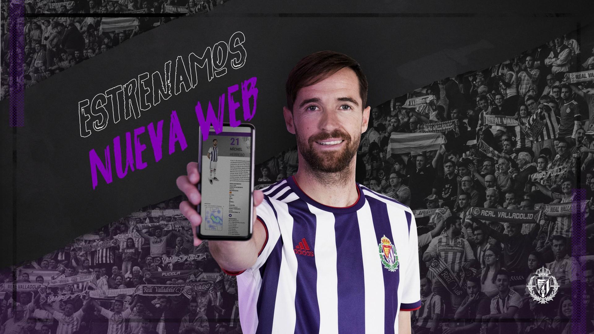El Real Valladolid estrena nuevo diseño de su página web 1920x1080c-21110711twitter-y-web