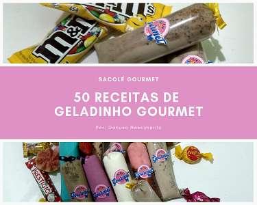 Curso de geladinho / sacolé gourmet (capa)