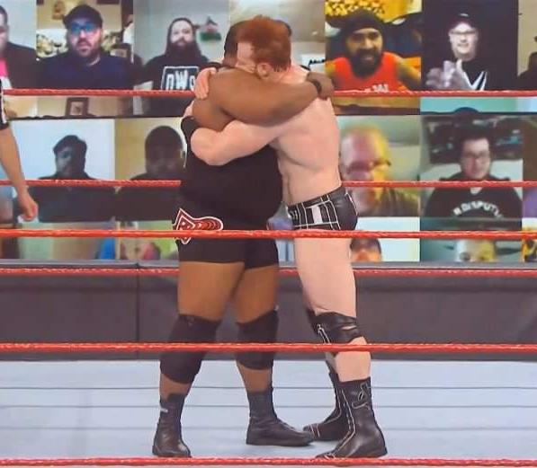 Sheamus y Keith Lee se vuelven a amistar en RAW