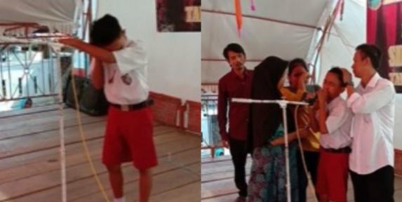 Bocah SD Nangis Nanyikan Lagu Untuk Ayah yang Baru Meninggal