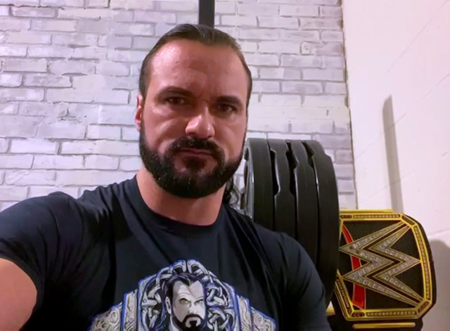 Drew McIntyre recuperación COVID-19 Royal Rumble Goldberg