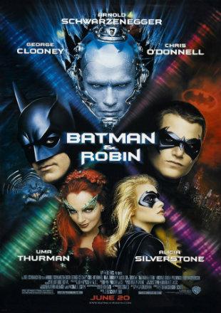 Batman & Robin 1997 Dual Audio Hindi 450MB BluRay ESubs Download