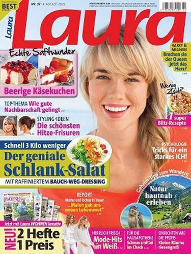 Cover: Laura Frauenmagazin No 32 vom 04  August 2021