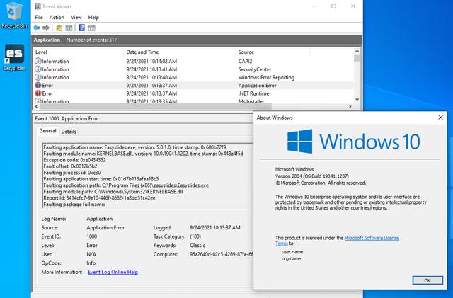Windows10-Easyslides-Crash