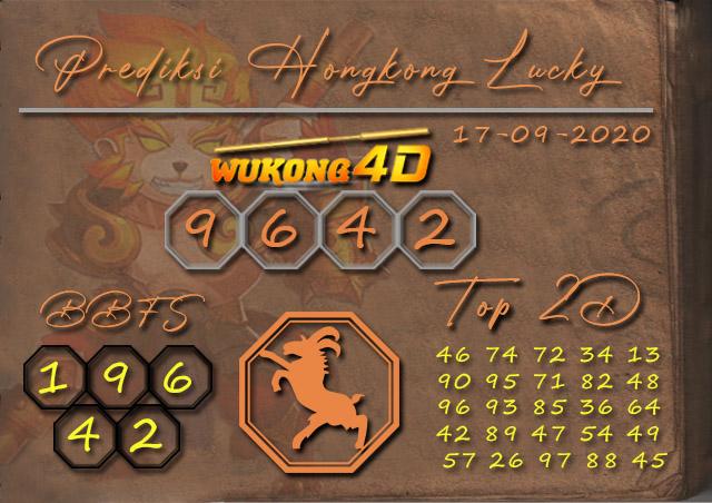 Prediksi Togel HONGKONG LUCKY 7 WUKONG4D 17 SEPTEMBER 2020
