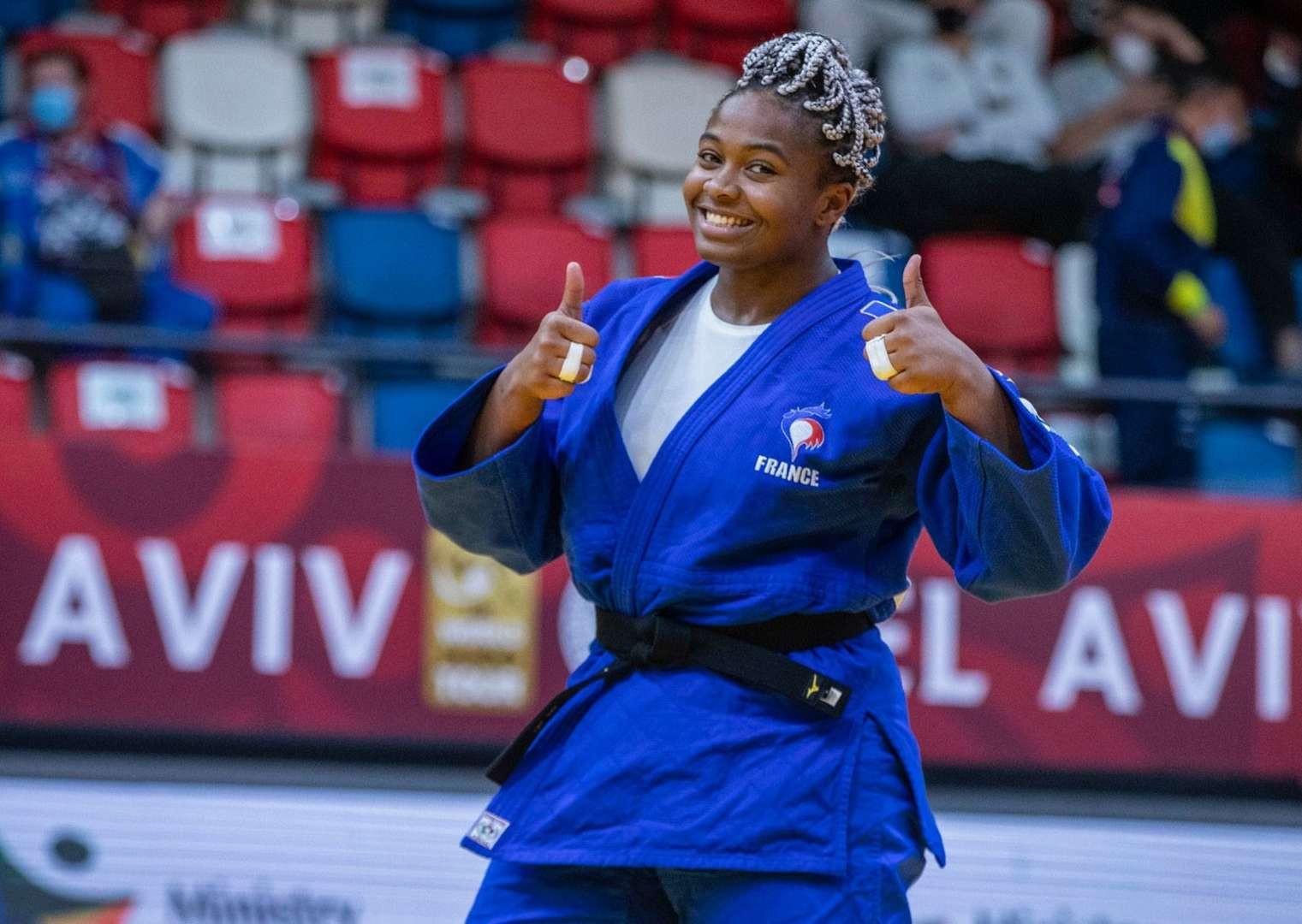 Romane Dicko frança grand slam tel aviv judo brasil