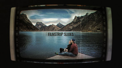 Filmstrip Slides 22368641 - Project for After Effects (Videohive)