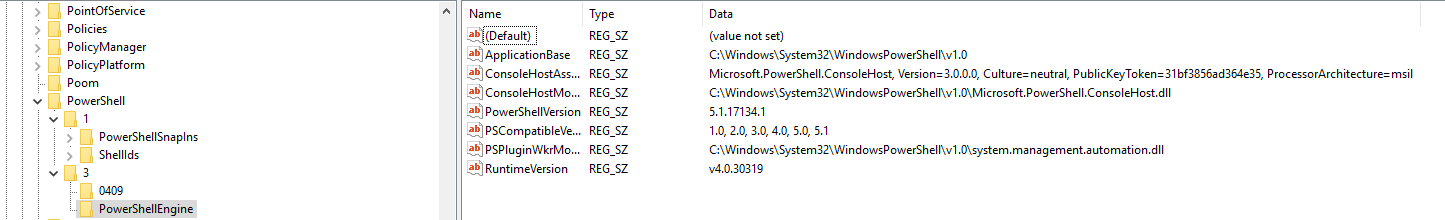 Veeam Backup console requires old powershell version 2 0