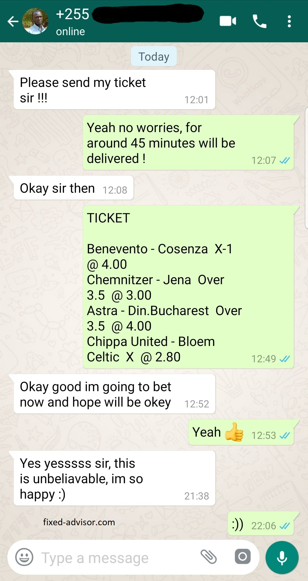 Best Soccer Fixed Odds