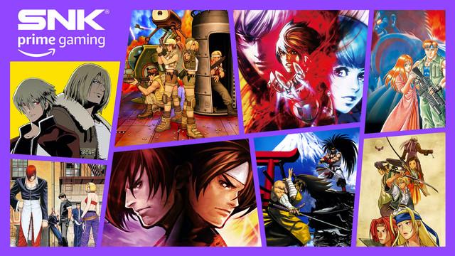 今日起,8款SNK人氣遊戲 在Prime Gaming免費上線! Prime-gaming-03