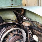 Temporary bypass of engine bay mechanical fuel pump