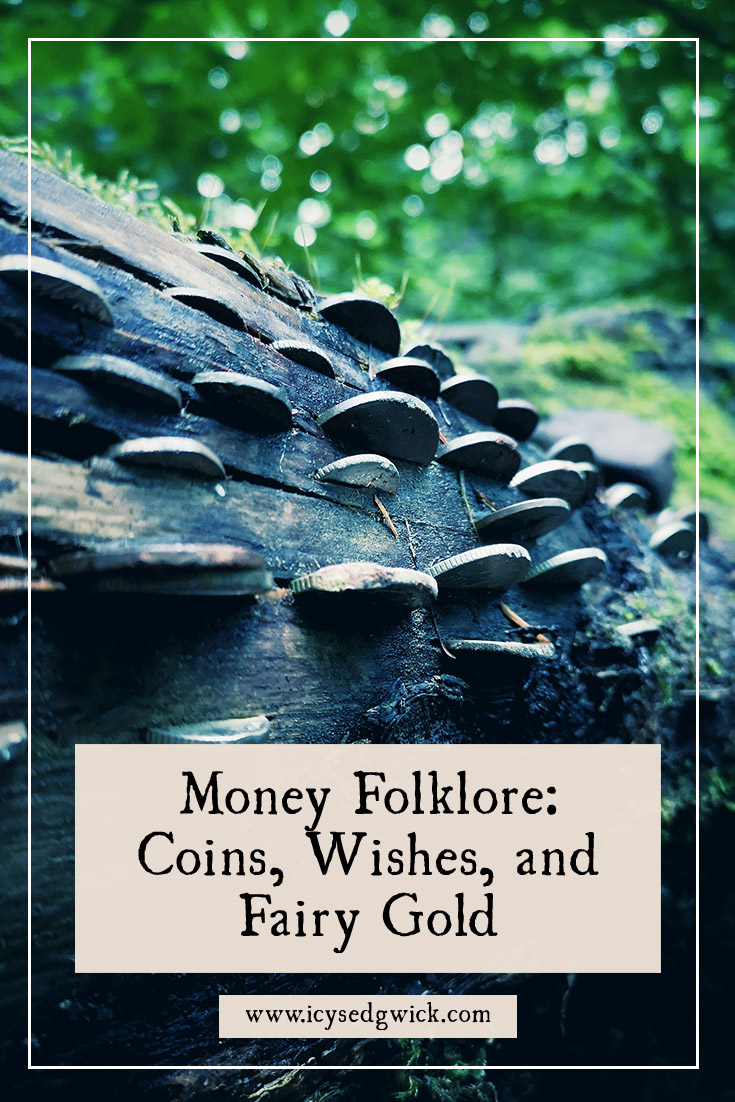 Money folklore covers the ways people try to use coins to bring luck, offer protection, or even bind a deal. Click here to learn more.