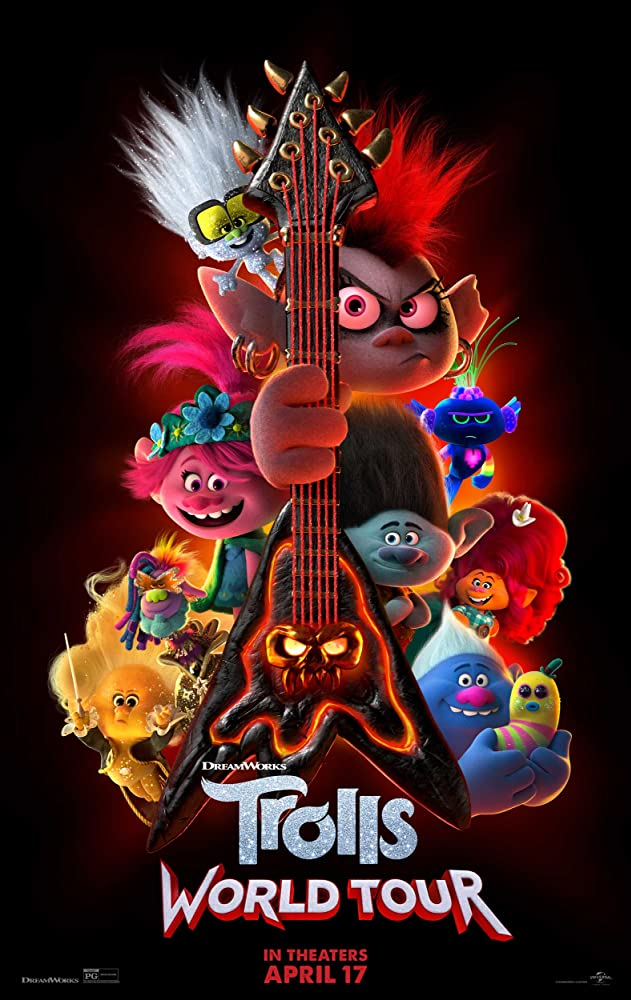 Trolls World Tour 2020 English 720p WEBRip 800MB Download
