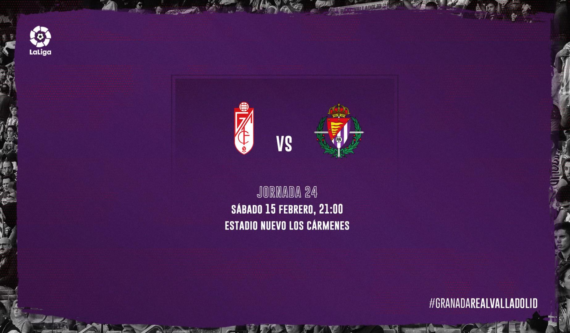 Granada C.F. - Real Valladolid C.F. Sábado 15 de Febrero. 21:00 Previagranada