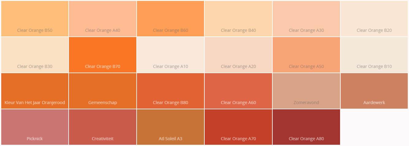 oranje-kleurplaat