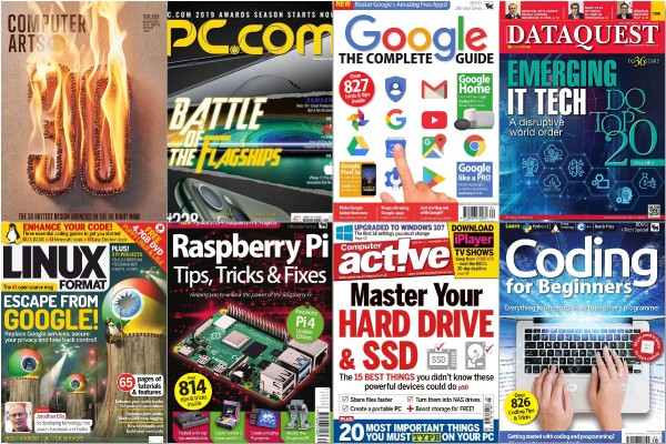 Computer Magazines Collection (November 2019)
