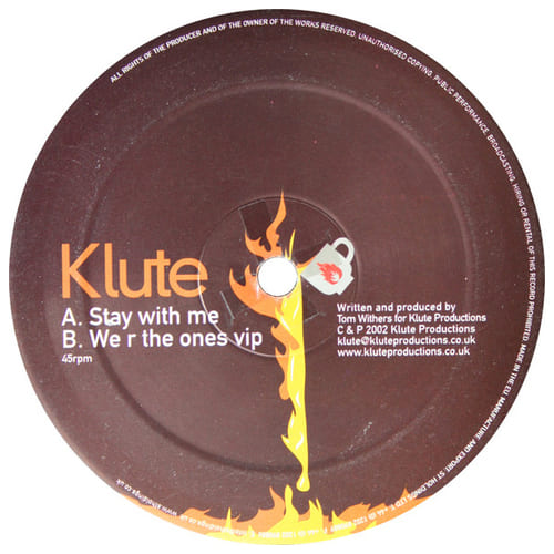 Klute - Stay With Me / We R The Ones VIP