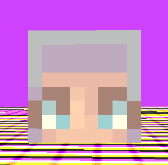 minecraft skins - bangs tutorial (better than my old one)