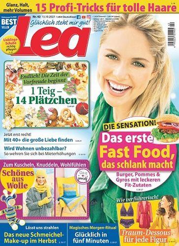 Cover: Lea Frauenmagazin No 42 vom 13  Oktober 2021