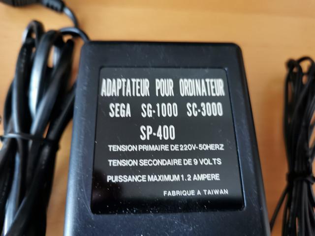 [VENDU] Alim + Cable Peritel SEGA YENO SC-3000 / SG-1000 / SP-400 IMG-20210213-161821