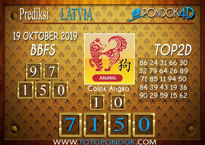 Prediksi Togel LATVIA POOLS PONDOK4D 19 OKTOBER 2019