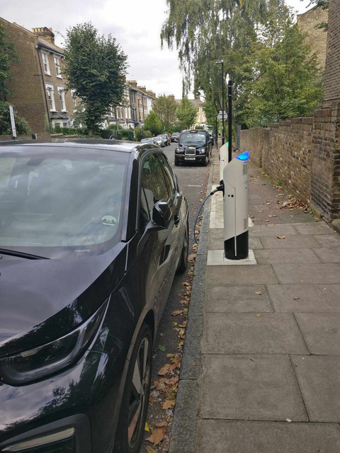 on street car charging