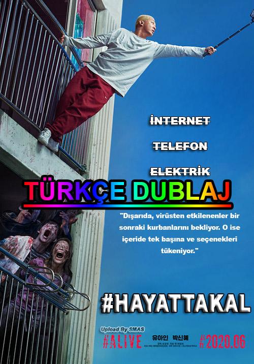 #HayattaKal | #Alive | 2020 | WEB-DL | XviD | Türkçe Dublaj | m720p - m1080p | WEB-DL | Tek Link