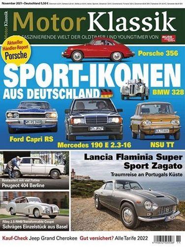 Cover: Auto Motor und Sport Klassik Magazin November No 11 2021