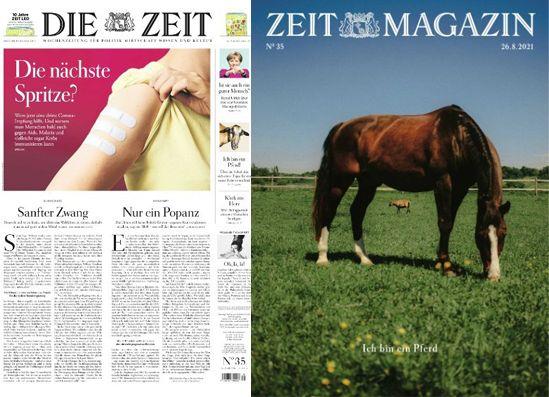 Cover: Die Zeit mit die Zeit Magazin No 35 vom 26  August 2021