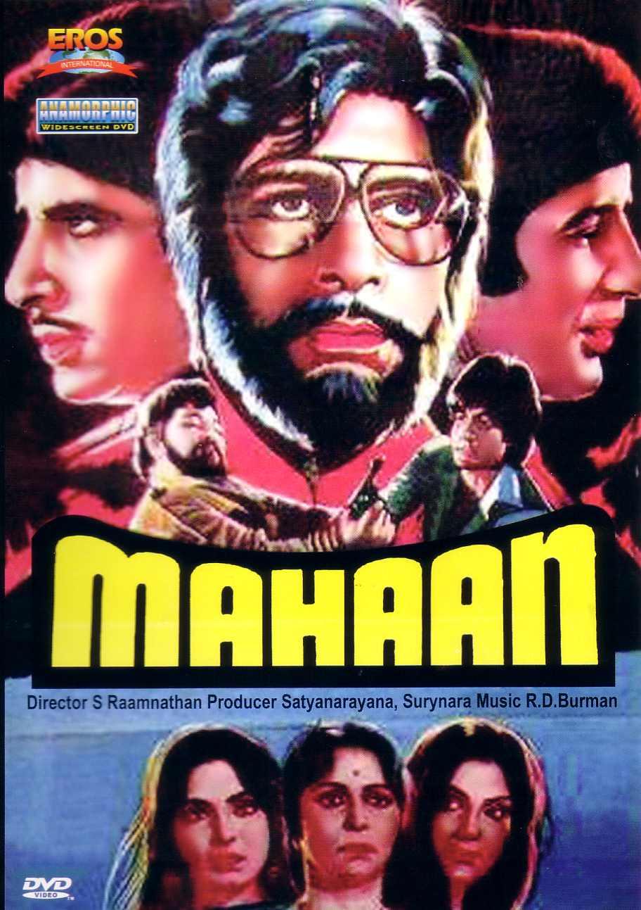 Mahaan (1983) Hindi 720p WEBRip ESubs Download