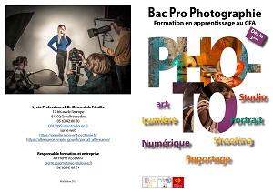 Plaquette BAC Pro Photographie