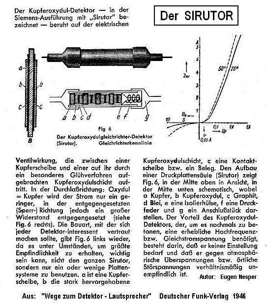 SIRUTOR-SIemens-RUndfunk-detek-TOR